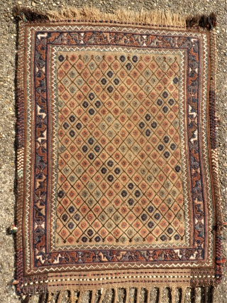 South Persia Flatwave. Size. 68 x 90 cm.