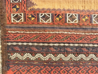 Baluch Sofreh. Size: 67 x 128 cm.
