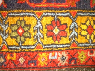 Old, anatolian rug. Size: 110 x 157 cm. Very good condition. Perfect colors.