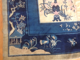 Throughout the ages  the fantasy in the Chinese design has inspired the creation of beautiful carpets. Chinese Peking early 20th Century.
