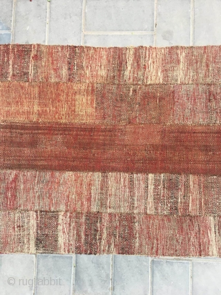 "Tibetan rug, nice red color , very good wool quality, good age, tightly row knitting. Size 155*78cm(60*30"")"