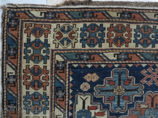 Shirvan Rug very old size: 145 x 141 price :POR SOLD