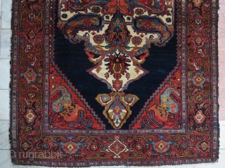 Hamedan Mehraban Armanian Rug Natural Color Age About 100 Years  207 x 140. SOLD