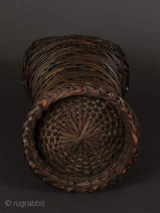 Japanese Antique Bamboo Basket