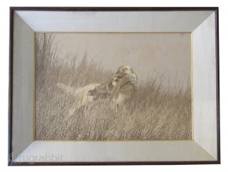 Incredible Japanese Meiji Framed Silk Embroidery