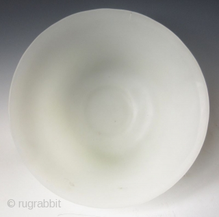 Antique Chinese Monochrome Peking Glass Bowl