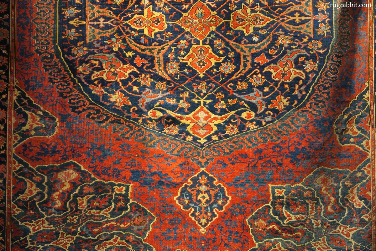 Medallion Ushak carpet, Bonham's
