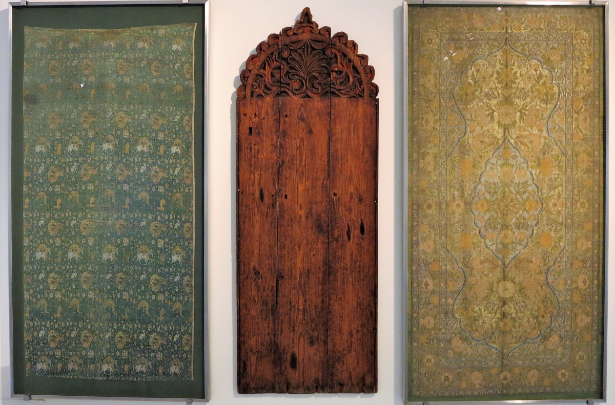 Safavid Persian silks in the Benaki Museum of Islamic Art, Athens