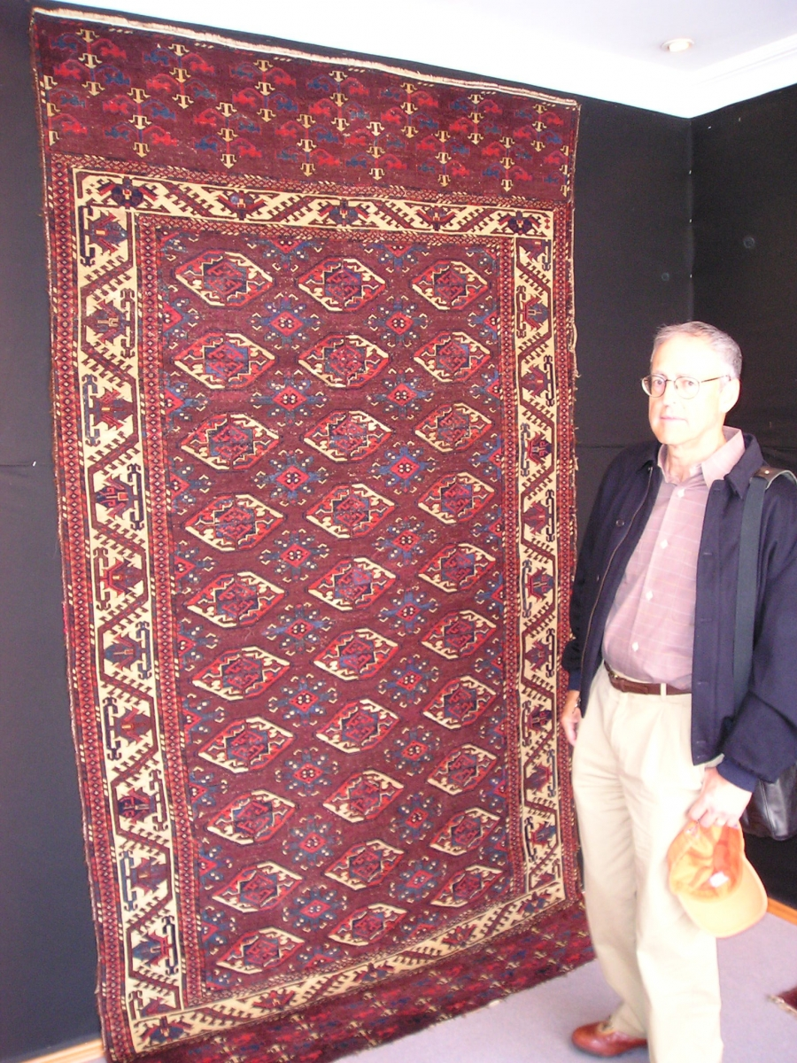 Yomut sub-group Turkmen main carpet