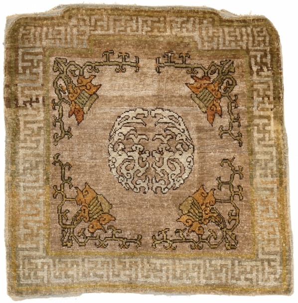 34. Yarkand silk throne cover