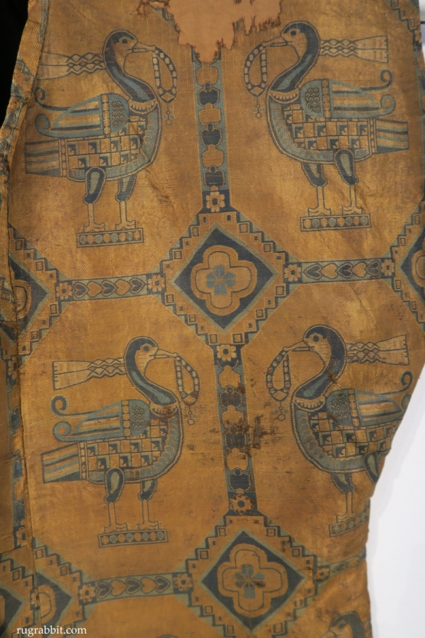 Sotheby's : Sogdian silk textile shirt , 7th-9th century
