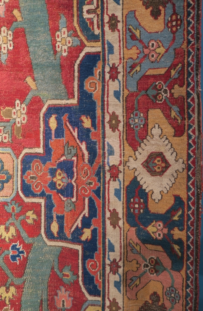 The Barbieri Compartment and Tree Khorosan carpet, 17th century : Christie's Art of the Islamic and Indian Worlds including Oriental Rugs and Carpets