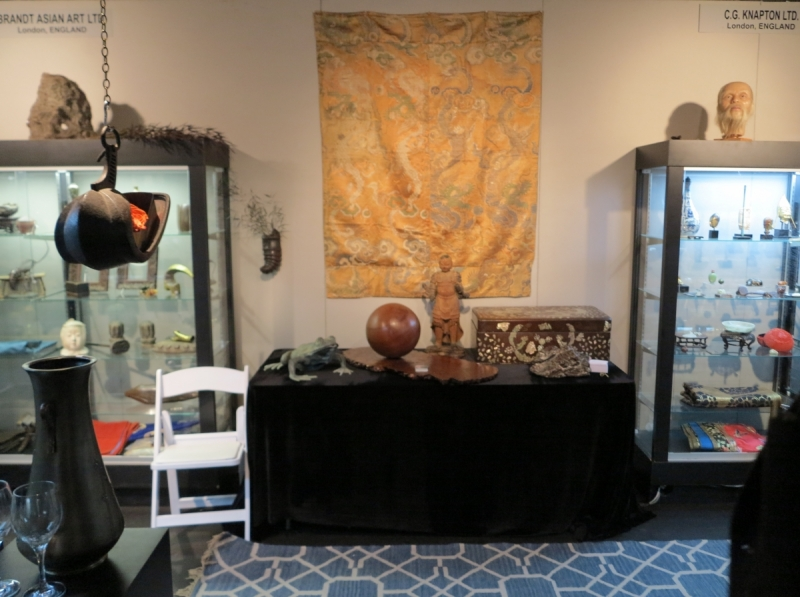 San Francisco Tribal and Textile Art Show: C. G. Knapton, Ltd.