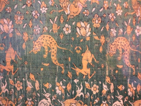 Safavid Persian silk, early 16th century (detail) Benaki Museum of Islamic Art, Athens