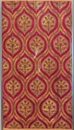 Ottoman Turkish Silk, circa 1600, Benaki Museum of Islamic Art, Athens