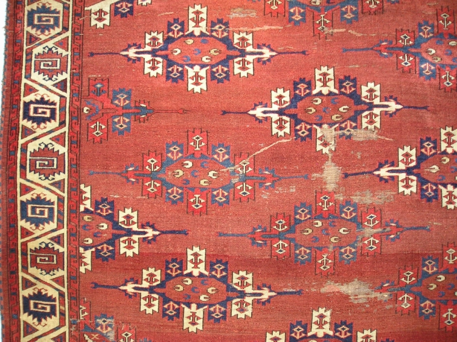 Yomut Turkmen main carpet
